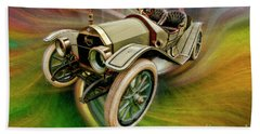 1912 Moon 30 Raceabout Bath Towel
