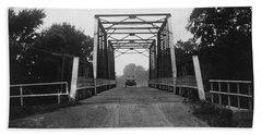 1915 Hudson Road Bridge Bath Towel