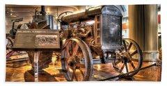 1917 Model 1 Fordson Tractor Dearborn Mi Hand Towel by Nicholas  Grunas