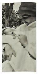 1920s Cloche Bath Towel by JAMART Photography