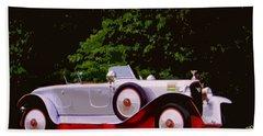 1921 Farman A6b Super Sport Torpedo Bath Towel