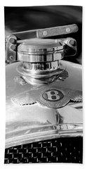 1927 Bentley Hood Ornament 2 Hand Towel by Jill Reger