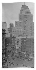 1929 Summer Street In Dock Square Boston Hand Towel