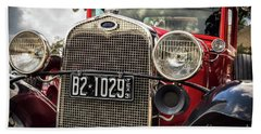 1931 Ford Pu Details Bath Towel