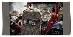 1931 Ford Pu Details Bath Towel