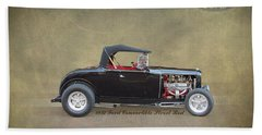 1932 Ford Convertible Street Rod Bath Towel