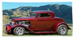 1932 Ford 'valley Springs' Coupe Bath Towel