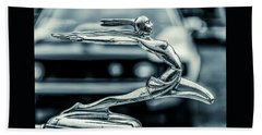 1934 Pontiac Hood Ornament Hand Towel