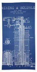 1935 Mining A Soluble Patent En39_bp Hand Towel