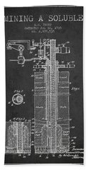 1935 Mining A Soluble Patent En39_cg Hand Towel