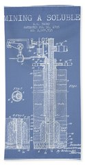 1935 Mining A Soluble Patent En39_lb Hand Towel
