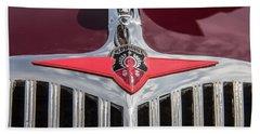 1935 Oldsmobile Grille Emblem Hand Towel