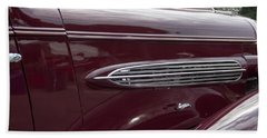 1935 Oldsmobile Side Vents Hand Towel