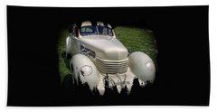 Bath Towel featuring the photograph 1936 Cord Automobile by Thom Zehrfeld