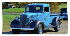 1937 Chevy Truck Bath Towel by Mike Martin