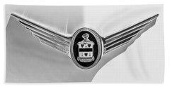 1937 Cord 812 Sc Phaeton Emblem -1200bw Bath Towel