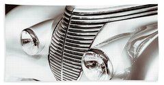 Hand Towel featuring the photograph 1938 Hispano-suiza H6b Xenia Front by Wade Brooks