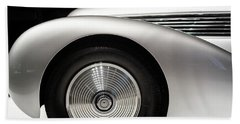 Hand Towel featuring the photograph 1938 Hispano-suiza H6b Xenia by Wade Brooks