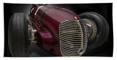 1939 Maserati 8ctf Indy Racer Bath Towel