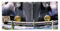 1940s Caddie Full Frontal Oh La La Bath Towel
