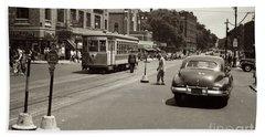 1940's Inwood Trolley Hand Towel