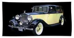 1941 Rolls-royce Phantom I I I  Hand Towel by Jack Pumphrey