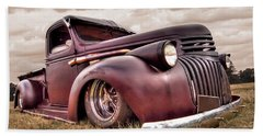 1941 Rusty Chevrolet Hand Towel