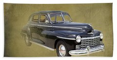 1946 Dodge D24c Sedan Bath Towel