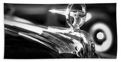 1946 Ford V8 Hood Ornament Hand Towel