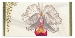 1947 Colombia Cattleya Chocoensisi Orchid Stamp Hand Towel