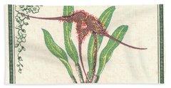 1947 Colombia Masdevallia Orchid Postage Stamp Bath Towel