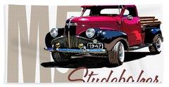 1947 M5 Studebaker Pickup Hand Towel