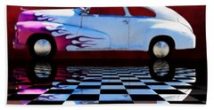 1947 Oldsmobile Reflect Bath Towel by Suzanne Handel