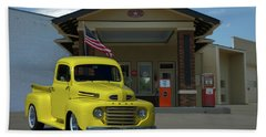 1948 Ford F1 Pickup Truck Bath Towel