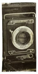 1949 Century Graphic Vintage Camera Hand Towel