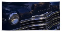 1949 Plymouth Deluxe  Bath Towel by Cathy Anderson