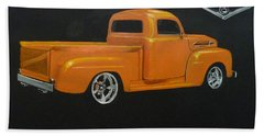 1952 Ford Pickup Custom Bath Towel