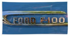 1953 Ford F100 Panel Truck Emblem Bath Towel