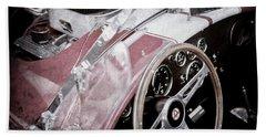1955 Ac Cobra Steering Wheel - Engine -1043ac Bath Towel