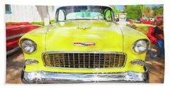 1955 Chevrolet Bel Air 009 Bath Towel