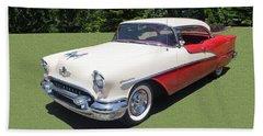 1955 Oldsmobile Super 88 Holiday Bath Towel