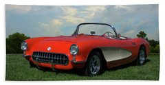 1956 Corvette Bath Towel