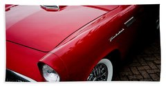 1956 Ford Thunderbird Hand Towel
