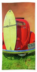 1957 Beetle Oval Hand Towel