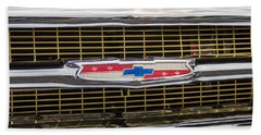 1957 Chevy Grille Hand Towel