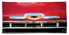 1957 Chevy Pick Up Truck 3100 Series 005 Bath Towel