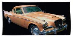 1957 Studebaker Golden Hawk Digital Oil Hand Towel