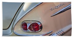 1958 Chevrolet Belair Taillight Hand Towel