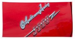 1959 Austin Healey 3000 Emblem Hand Towel