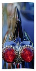 Bath Towel featuring the photograph 1959 Cadillac Eldorado Tail Fin 4 by Jill Reger